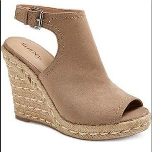 Merona Mala Shield Espadrille Wedges